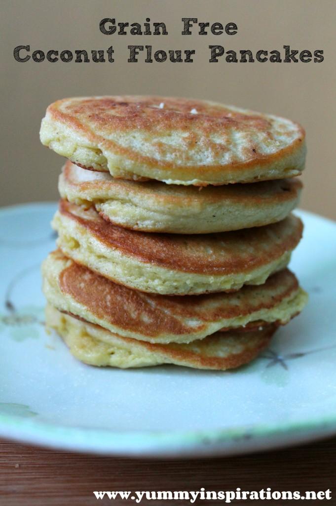 Grain free coconut flour pancakes gaps paleo ccuart Image collections