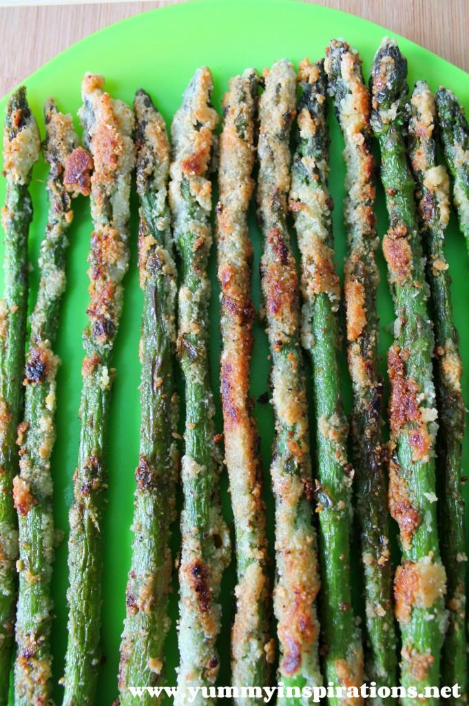 Crispy Asparagus Fries Recipe - Keto, Paleo & Gluten Free Asparagus Recipes