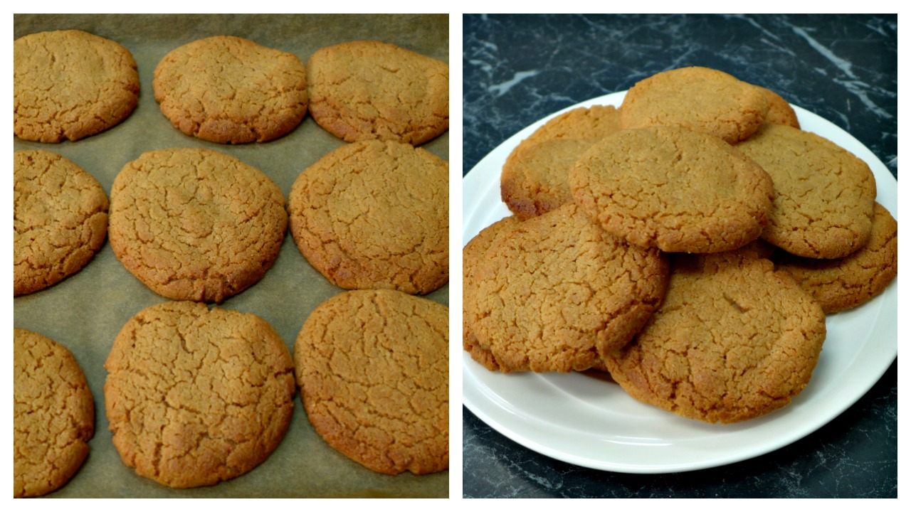Flourless Peanut Butter Cookies Recipe With 3 Ingredients