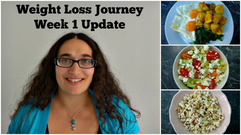 Weight Loss Journey Week 1 Update & Youtube Videos