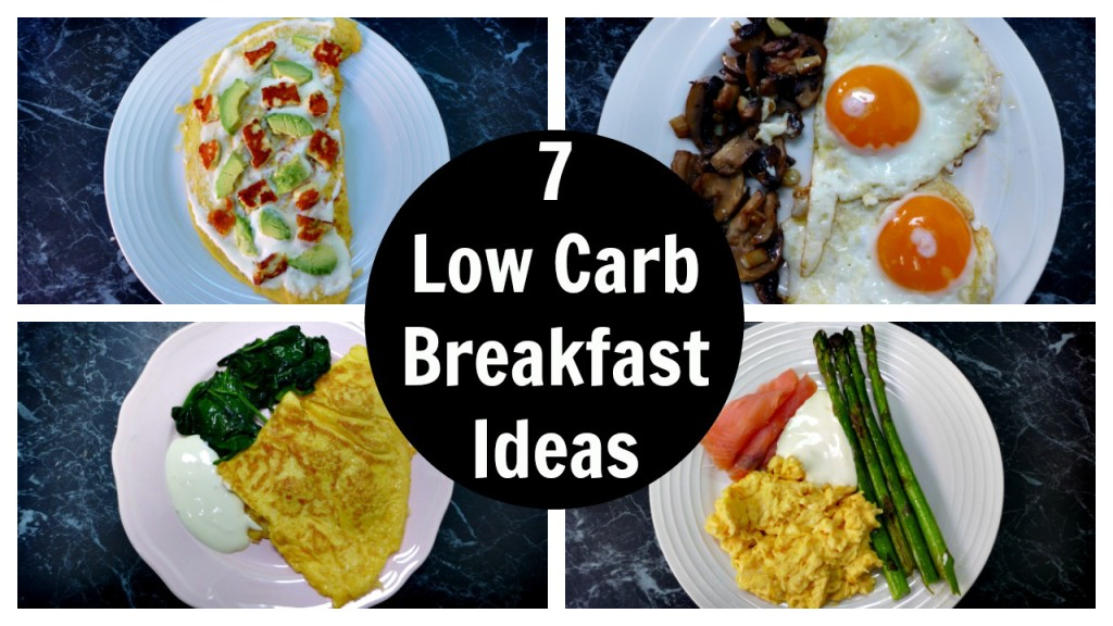7 Low Carb Breakfast Ideas – A week of Keto Breakfast Recipes + Video