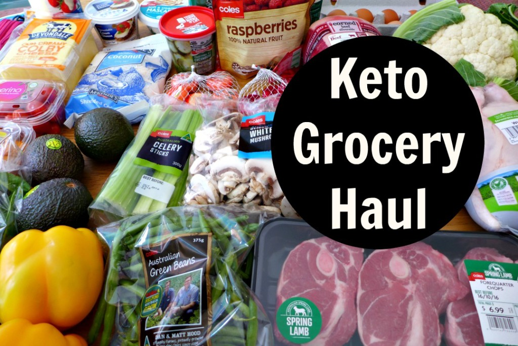Keto Diet Grocery Haul – Coles Australia Food Haul – Low Carb Weight Loss