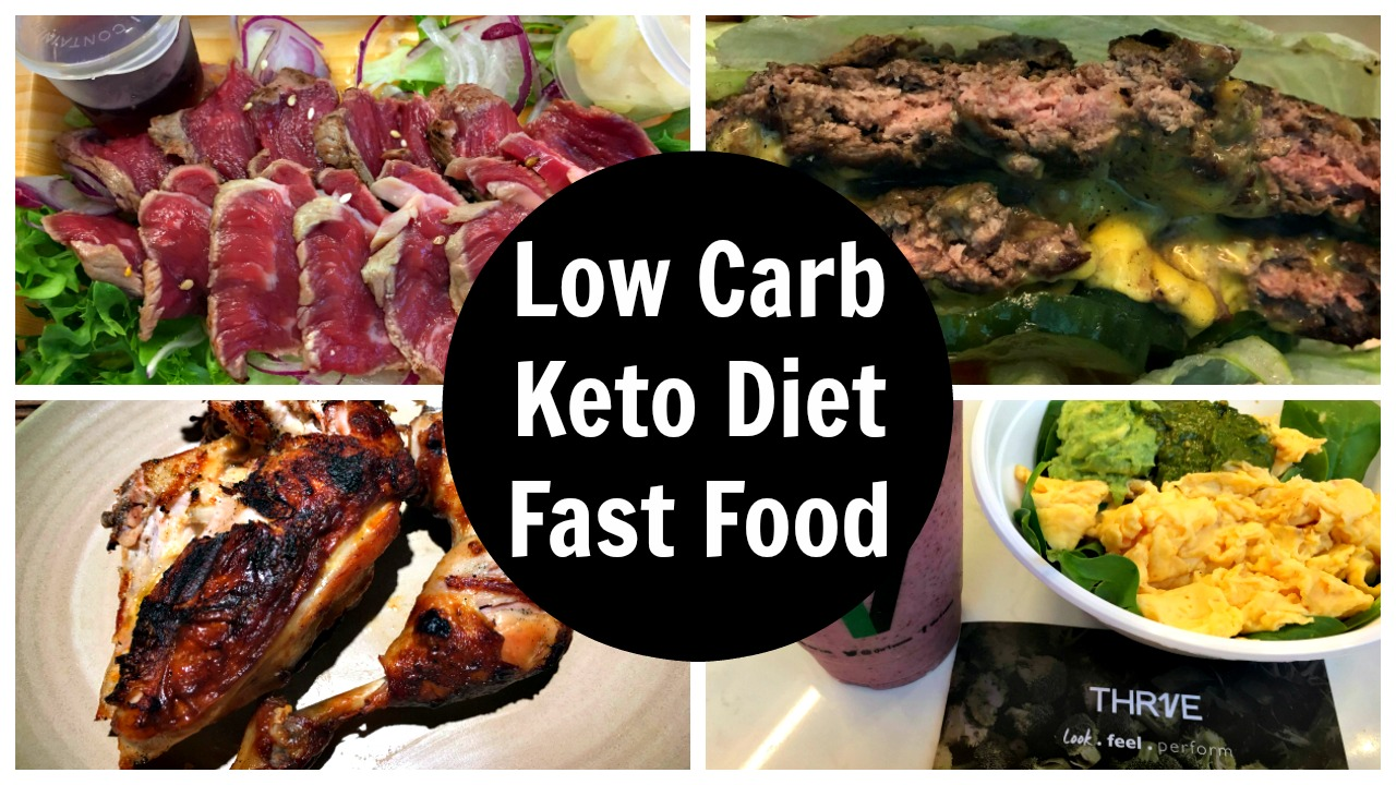 Keto Lunch Fast Food