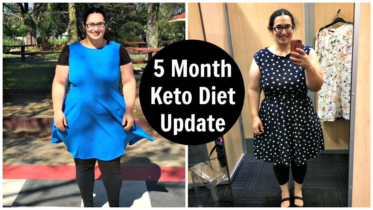 5 Month Ketogenic Diet Results Update - Before & After Pictures