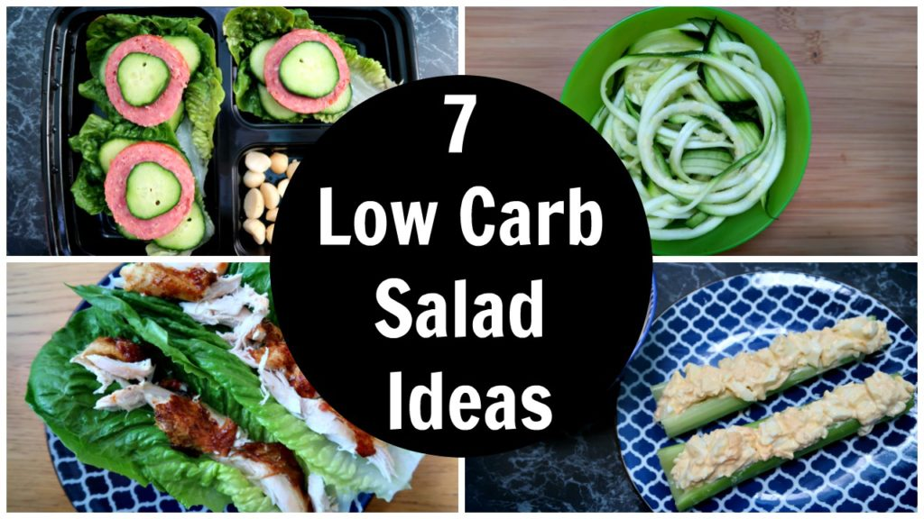 7 Low Carb Salad Ideas – A Week Of Keto Diet Salad Recipes