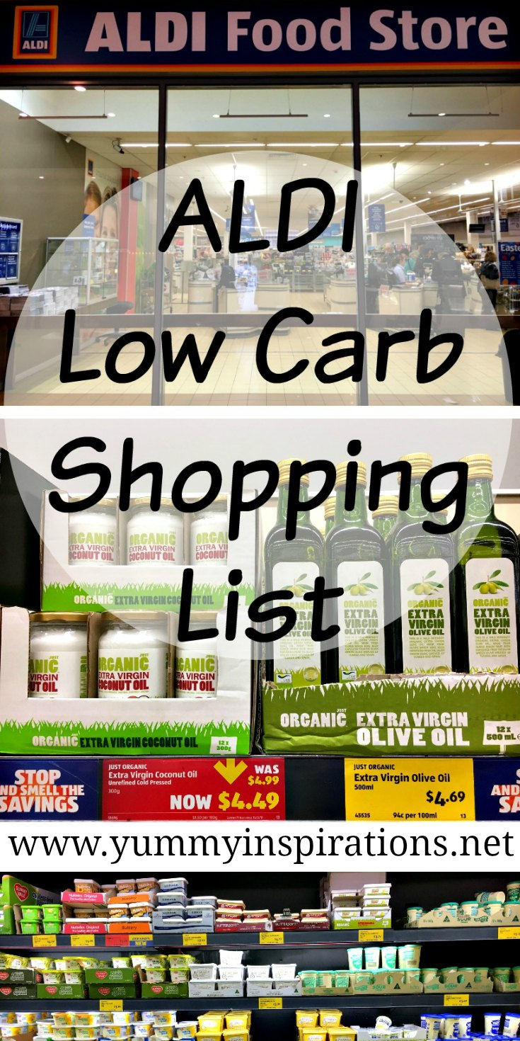 Aldi Low Carb Shopping List Keto Diet Foods Video Grocery Haul