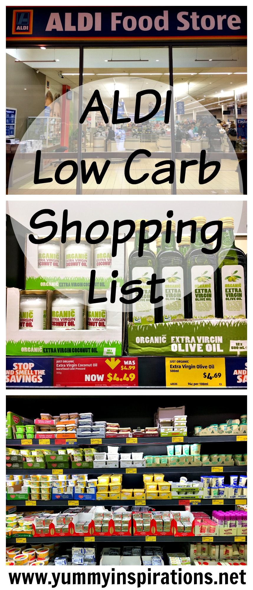 Aldi Low Carb Shopping List Video Grocery Haul