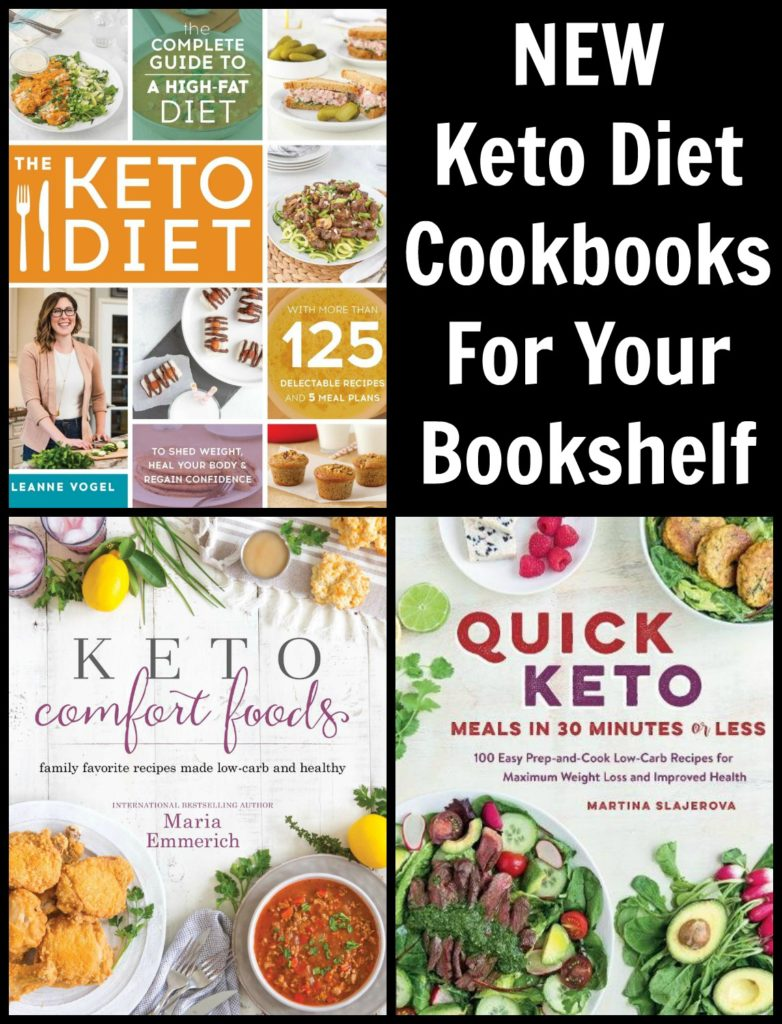 NEW Keto Cookbooks For Your Bookshelf