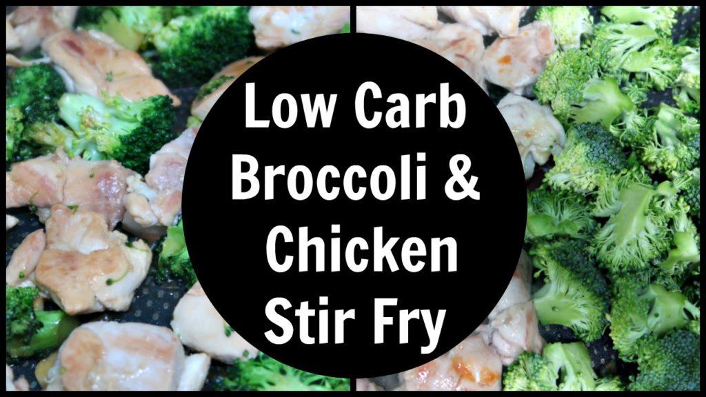 Broccoli & Chicken Stir Fry Recipe – Low Carb, Keto & Paleo