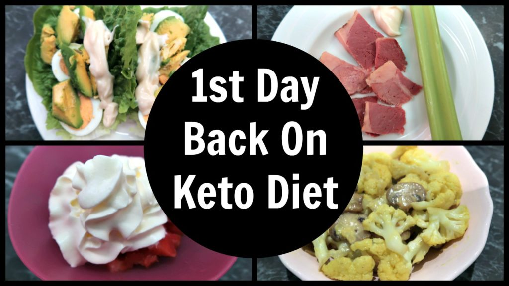 First Day On Keto – Full Day Of Meals
