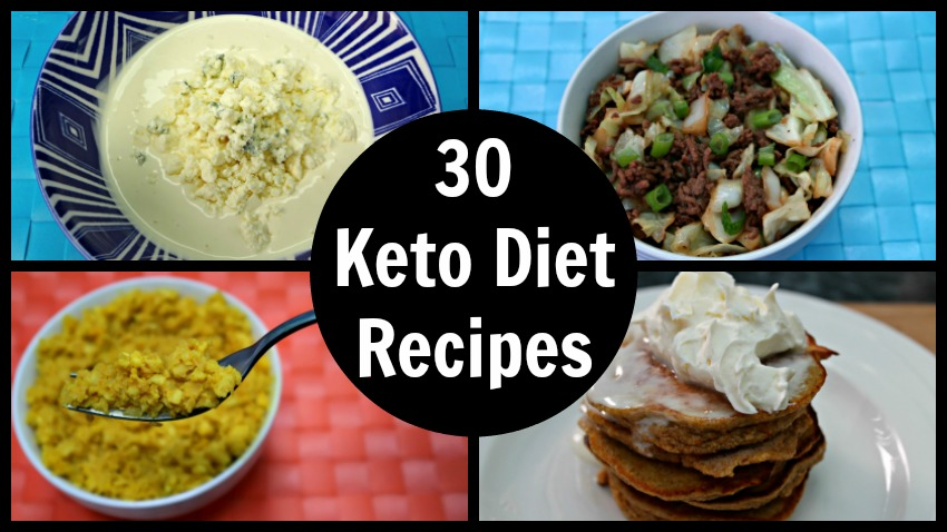 30 Keto Diet Recipes Easy Low Carb Ketogenic Diet Ideas