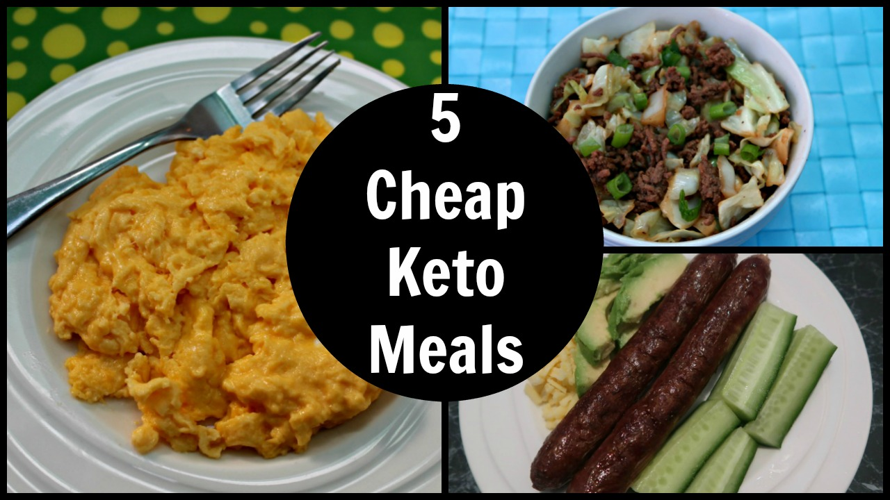 Cheap Low Carb Foods