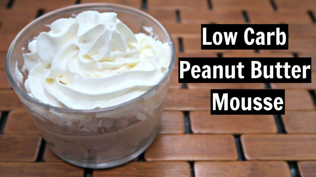Low Carb Peanut Butter Mousse Recipe