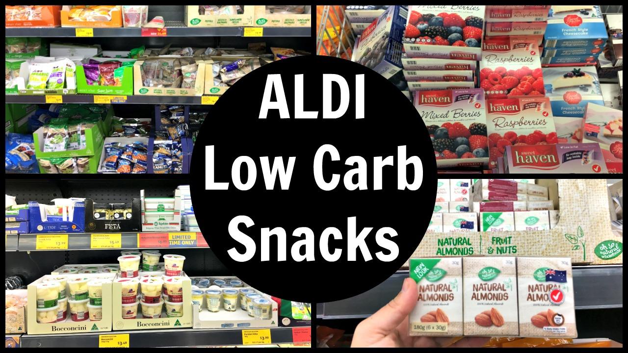 Aldi Low Carb Snacks List Ketogenic Diet Snack Food Ideas
