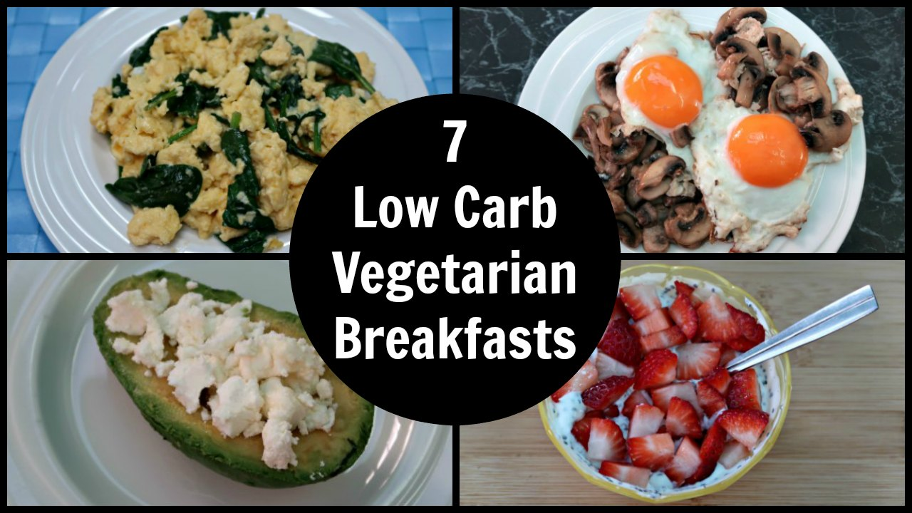 7 Keto Vegetarian Breakfast Recipes - A Week Of Easy Low Carb Diet Plan Vegetarian Breakfasts ...