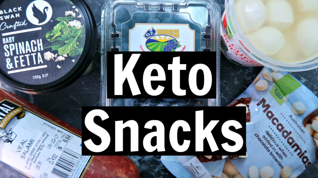 Easy Keto Snacks For On The Go