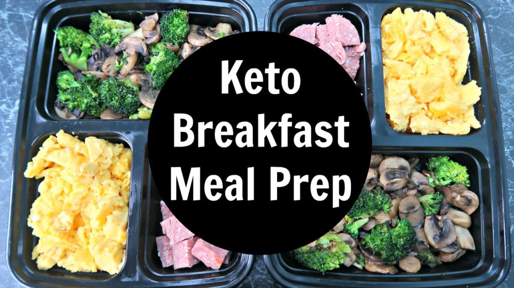 Keto Breakfast Meal Prep Ideas