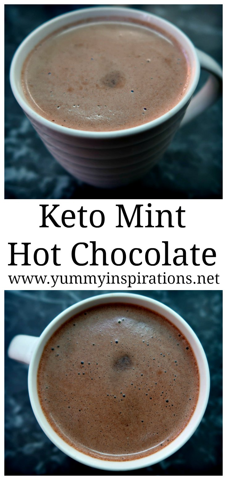 Mint Hot Chocolate Recipe Low Carb Keto Diet Hot