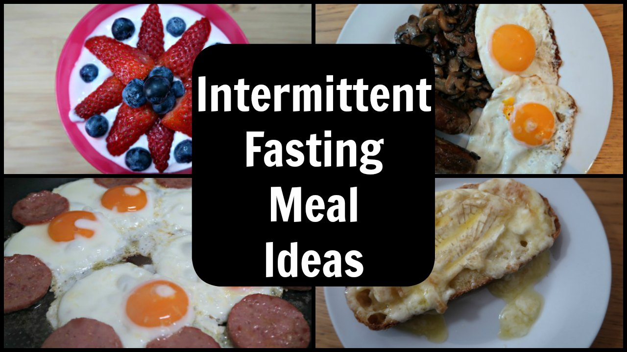16 8 Intermittent Fasting Results >> Intermittent Fasting Meals - Meal Plan for 16/8 Intermittent Fasting