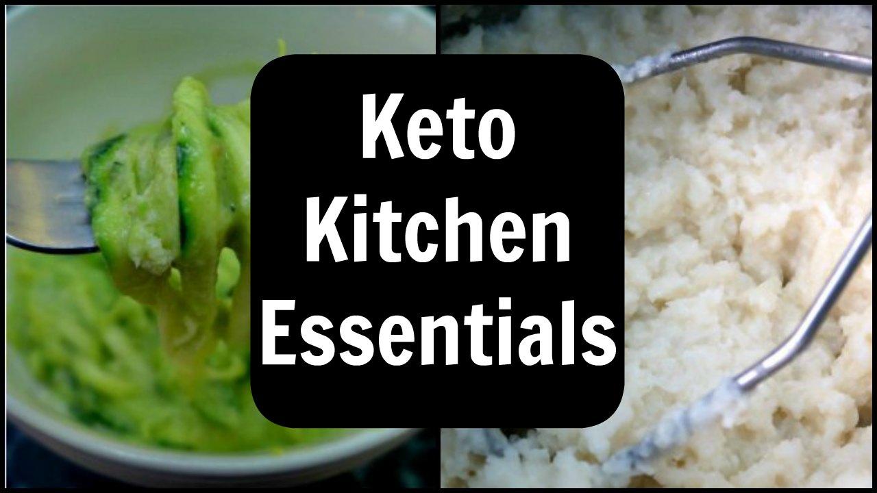 Keto Kitchen Essentials