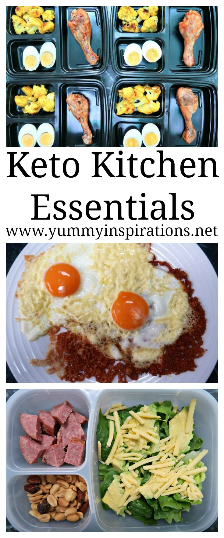 Keto Kitchen Essentials - Gadgets and Equipment to make it easy to follow the low carb ketogenic diet to help you save time and money!