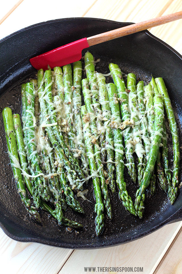Low Carb Asparagus Recipes - Keto Diet Friendly Asparagus Recipe Ideas and Inspiration for soup, quiche, casserole, salad, bacon wrapped, pan stir fried, with cheese and more!