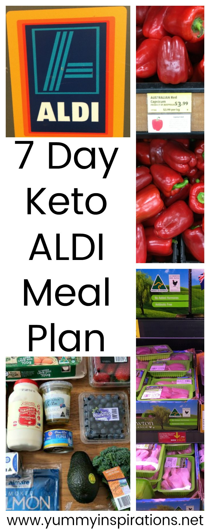7 Day Keto Aldi Meal Plan Low Carb Ketogenic Diet Meal For