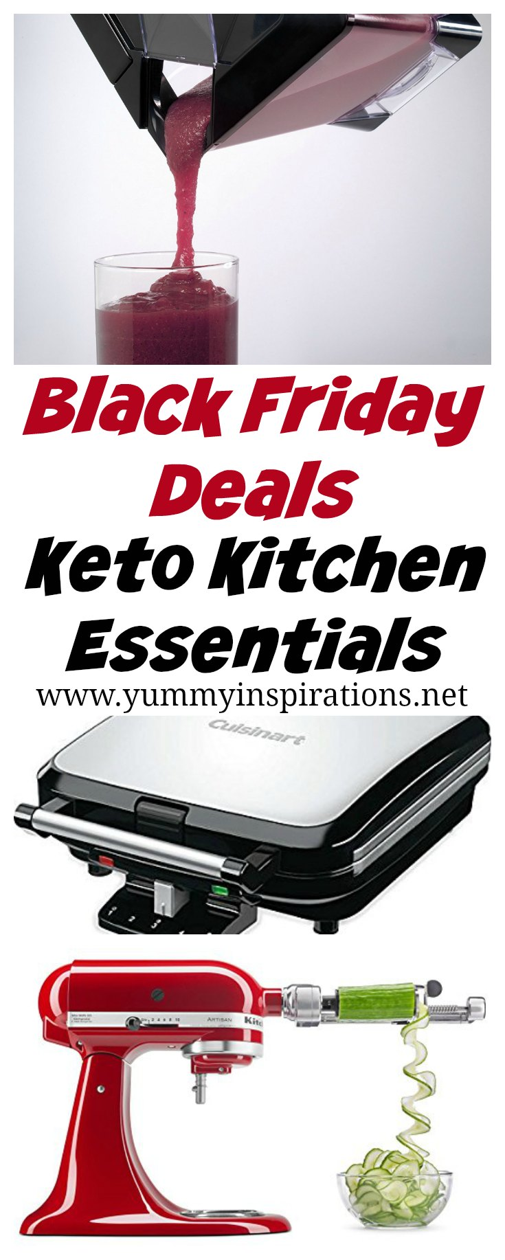 AMAZING Black Friday Deals on Keto Kitchen Tools - Black Friday & Cyber Monday Deals - Keto Kitchen Deals - amazing offers on cookbooks and gadgets to make it even easier to follow a low carb diet like the keto diet