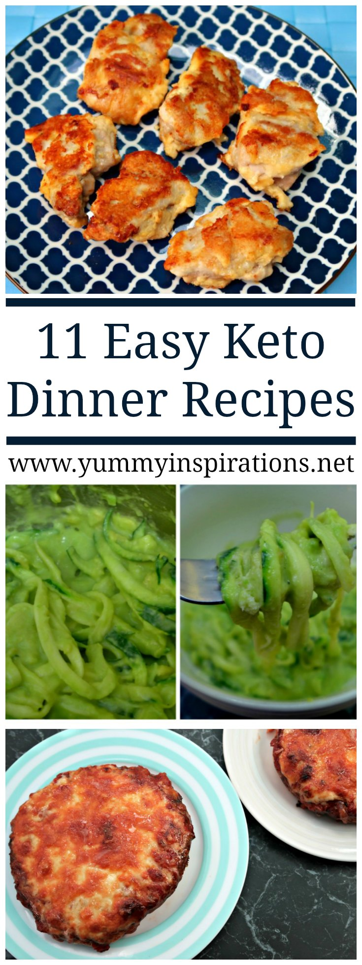 11 easy keto dinner recipes quick low carb ketogenic for Quick and easy low carb dinner recipes