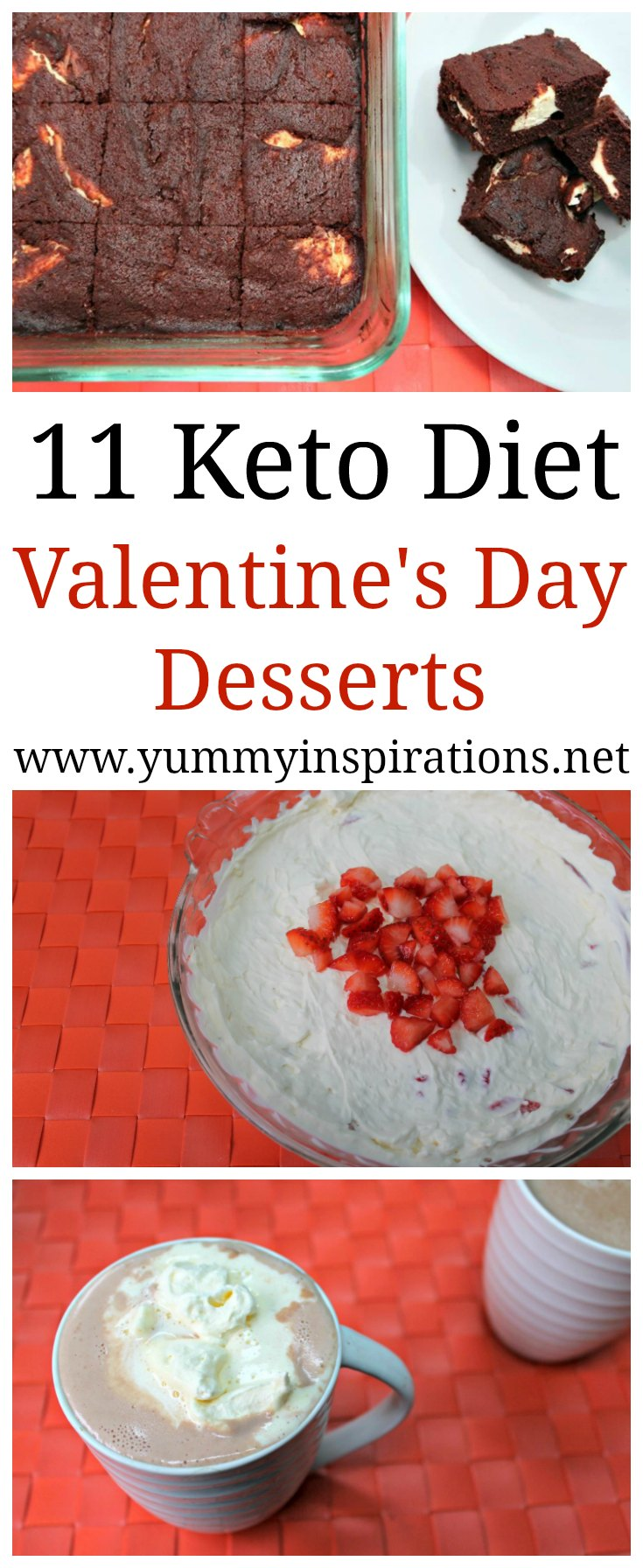 11 Keto Valentines Dessert Ideas Easy Low Carb Ketogenic Treats