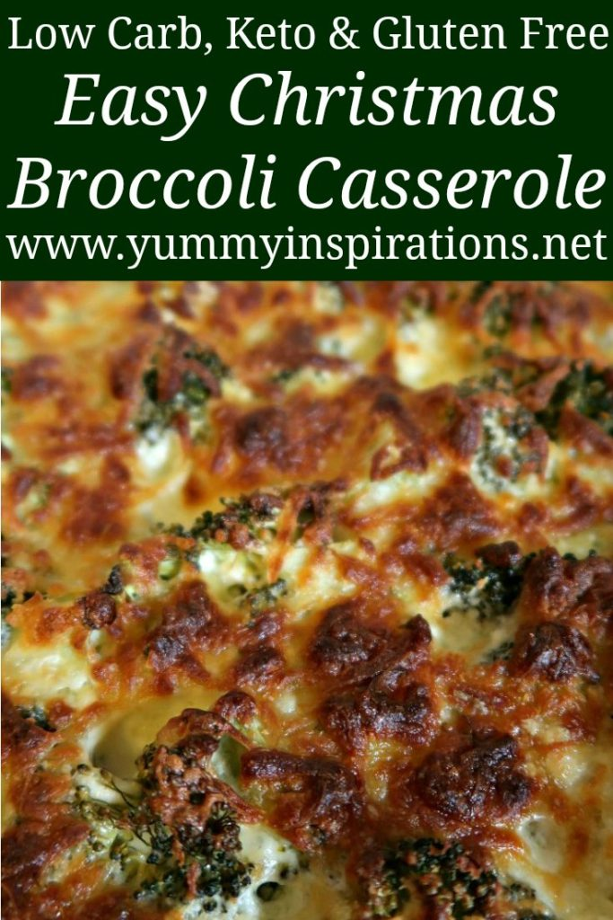 Keto Broccoli Casserole Recipe Easy 4 Ingredient Low