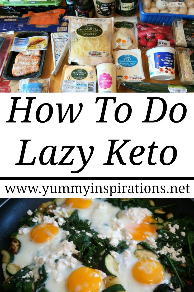 How To Do Lazy Keto – What is it Cooking Lazy Low Carb Meals, food list and my plan explained for how I get results without tracking macros or following a strict Ketogenic Diet meal plan.