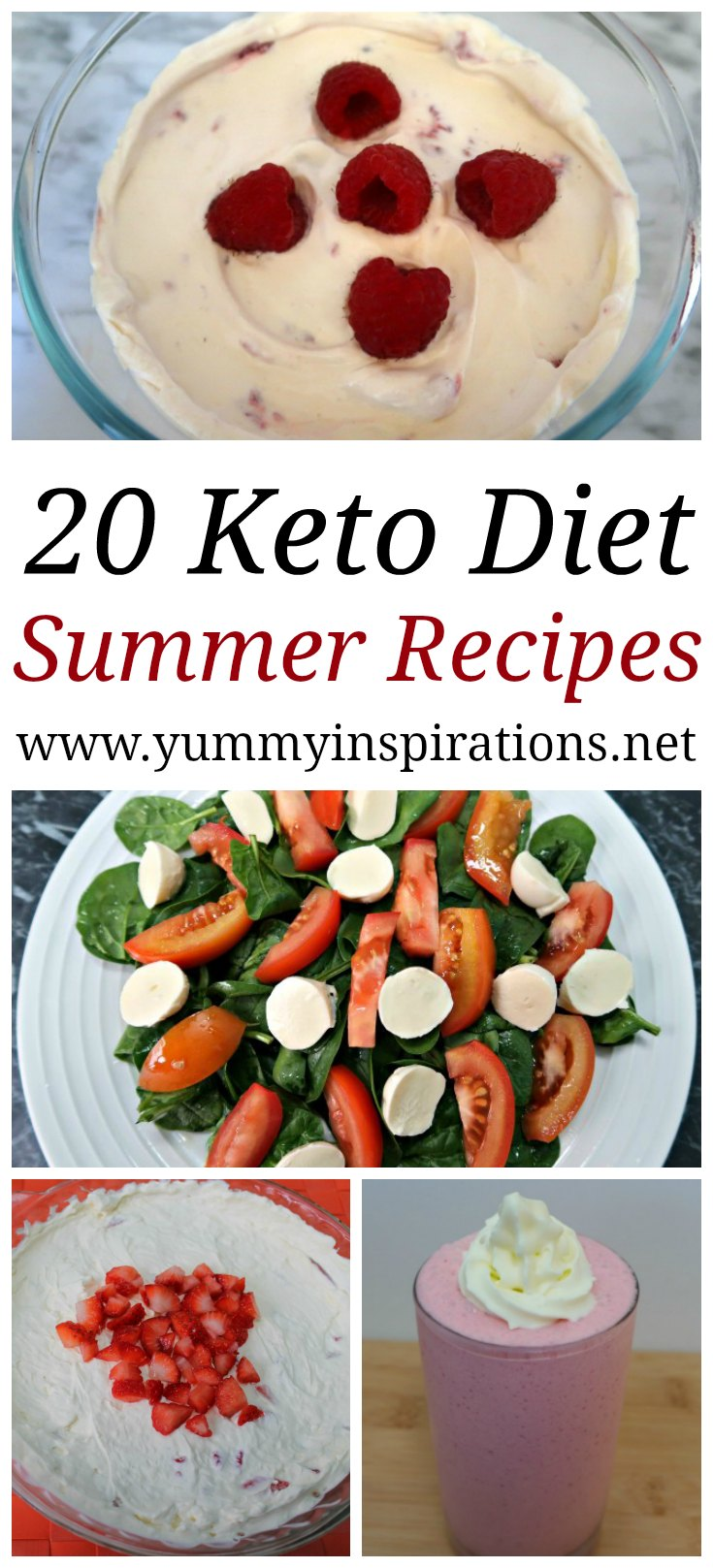20 Keto Summer Recipes Easy Low Carb Ketogenic Meals Desserts