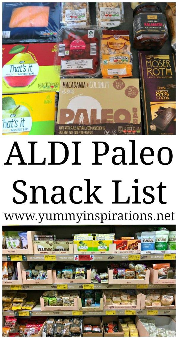 ALDI Paleo Snack List - Ideas for Paleo Snacks Mix that you