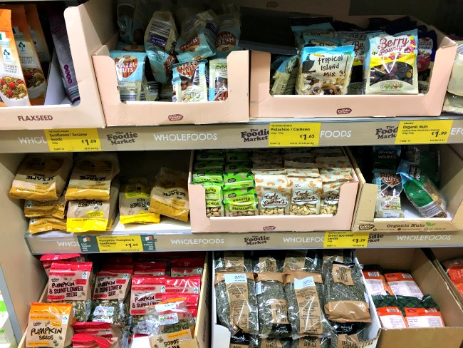 ALDI Paleo Snack List - Ideas for Paleo Snacks Mix that you'll find