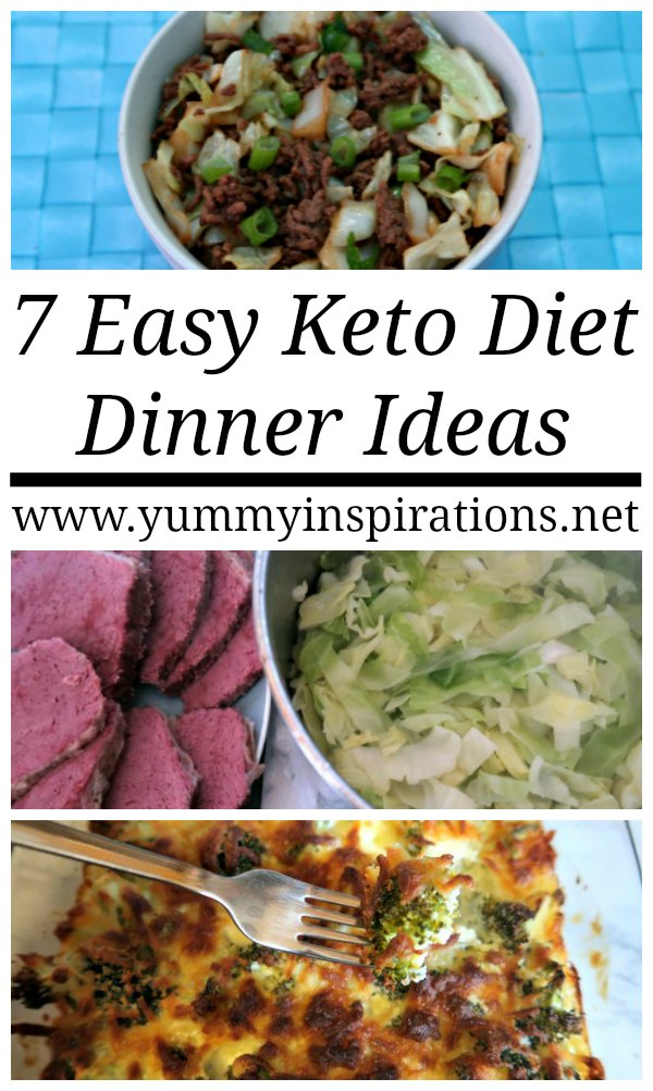 7 easy keto dinner ideas quick low carb ketogenic diet for Quick and easy low carb dinner recipes