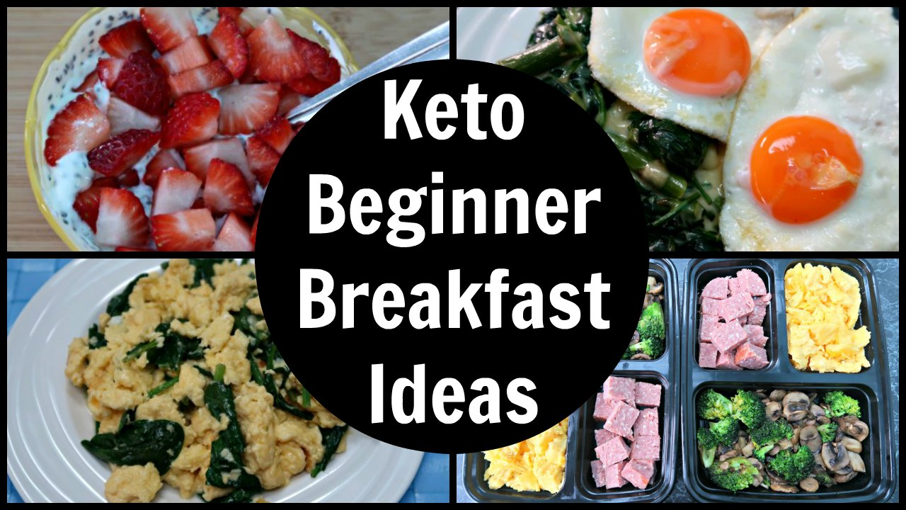 Keto Diet Beginners Breakfast Ideas - Recipes For Low Carb Breakfasts