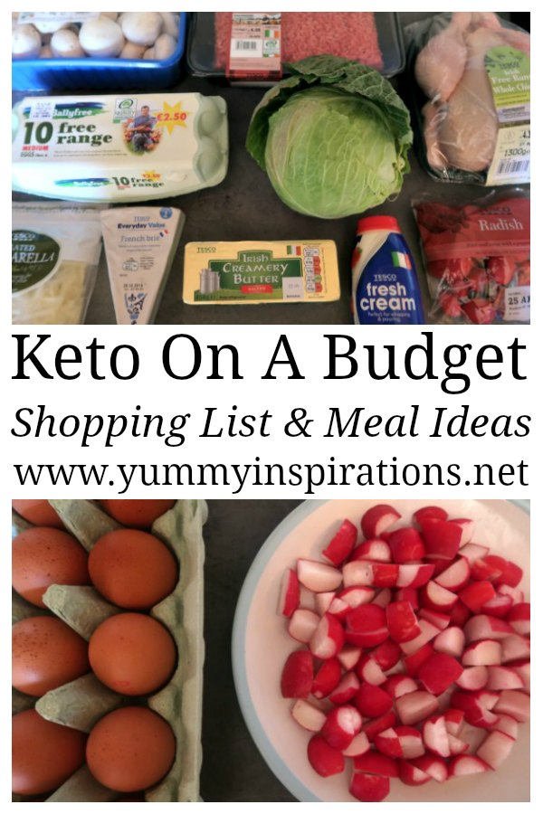 how to go grocery shopping on a budget