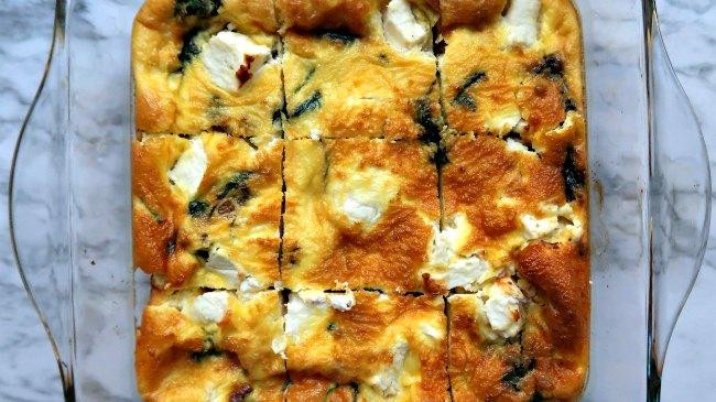 Keto on a budget breakfast idea - casserole