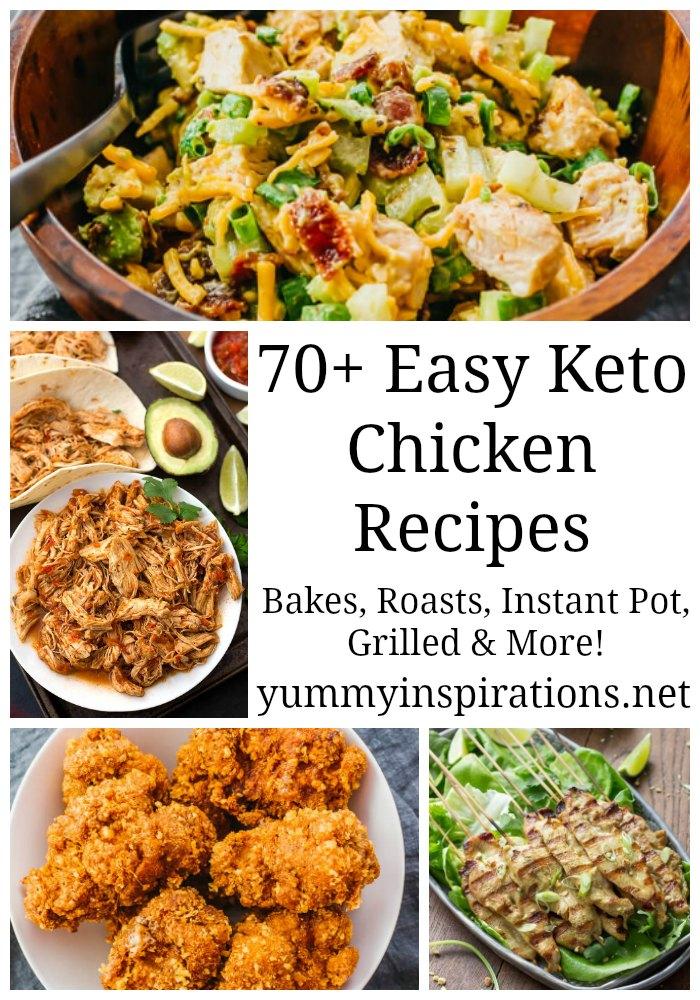 70 Keto Chicken Recipes Easy Low Carb Chicken Recipe Ideas