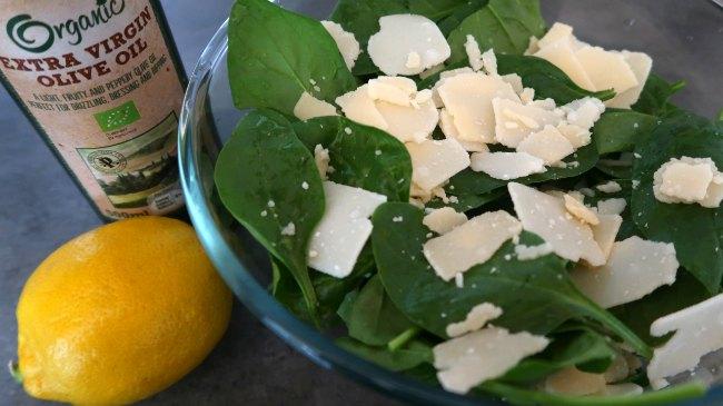 Parmesan Salad Recipe