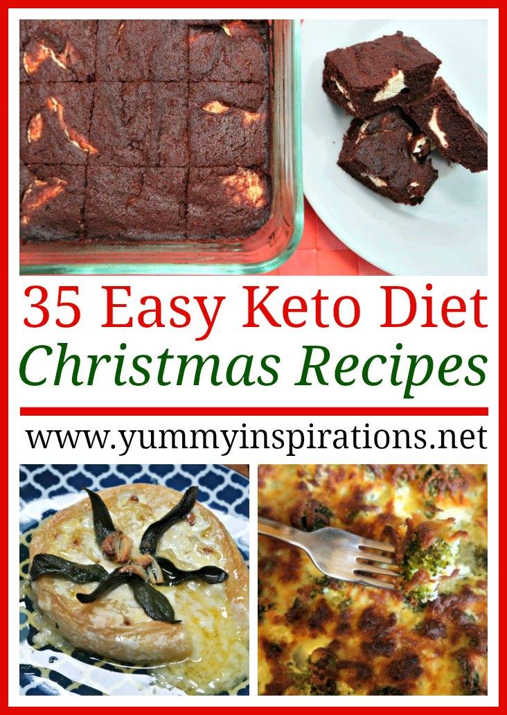 35 Keto Christmas Recipes Easy Low Carb Ketogenic Diet Menu