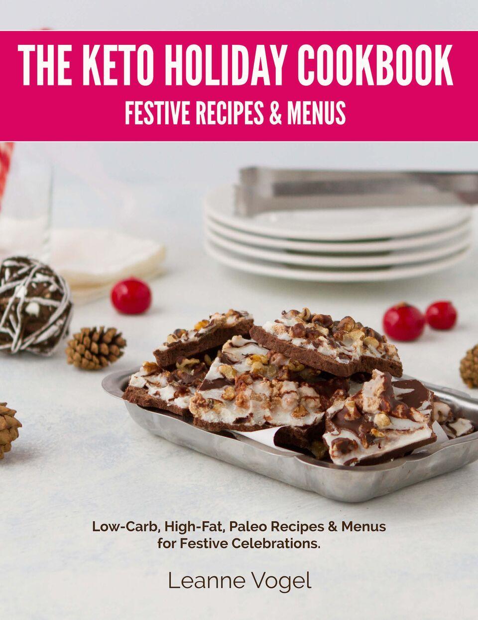 Keto Christmas Holiday Cookbook