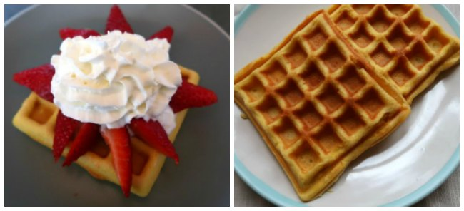 Make ahead waffles