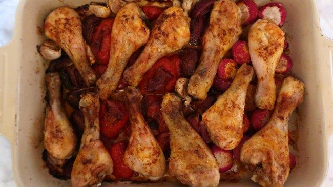 Smoky Paprika Chicken Tray Bake Recipe
