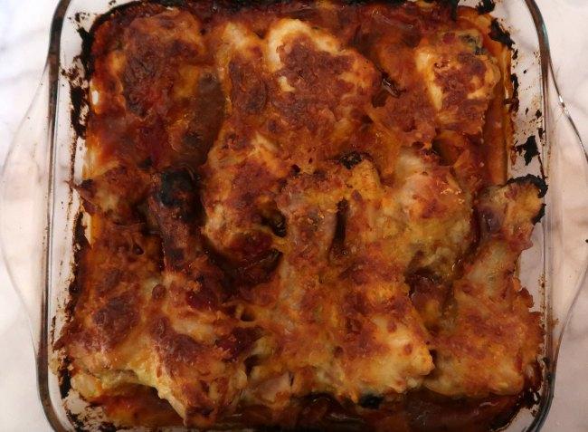 Keto Chicken Bake for dinner