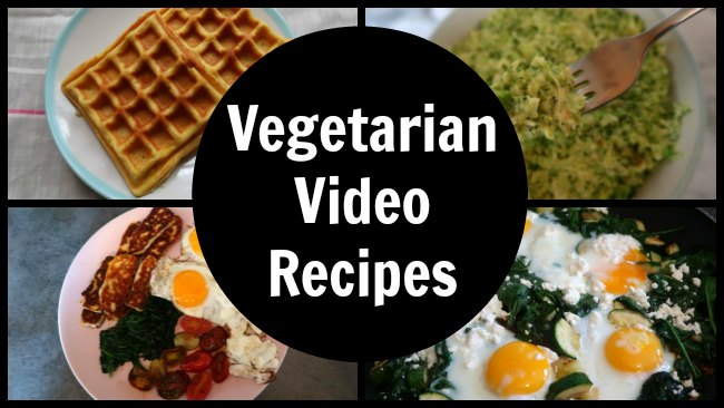 Easy vegetarian recipe videos