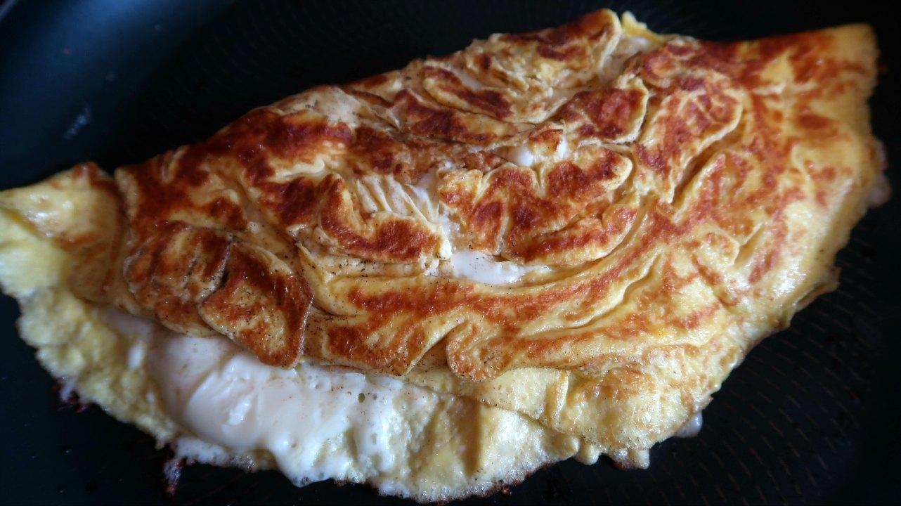 Keto Three Cheese Omelette