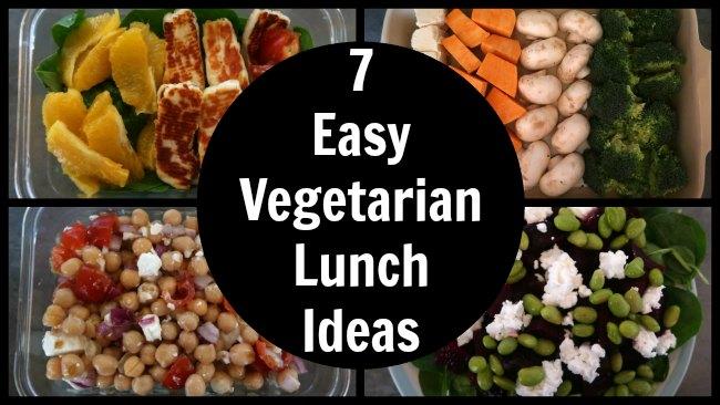7 Vegetarian Lunch Ideas