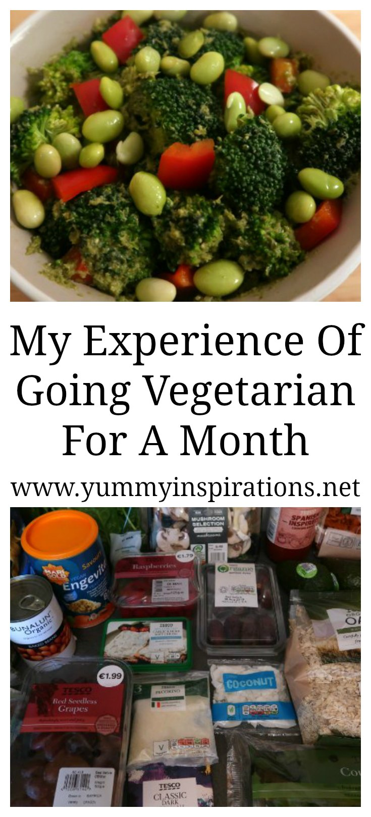 My Experience Of Going Vegetarian For A Month - the benefits and effects I've experienced after 4 weeks of following a Vegetarian Diet.
